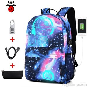 Cross-border explosion luminous children's backpack Korean version of Oxford cloth male printing backpack Middle school female custom bag