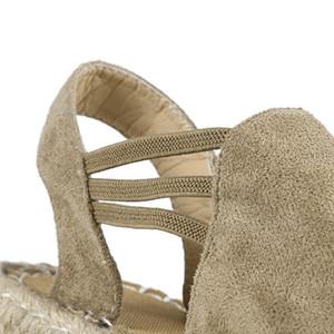 Sagace de las sandalias de los zapatos de mujer 2019 nuevo verano Weaving playa zapatos planos de las señoras de la moda de las sandalias casuales Sandalias