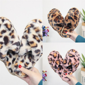 1663 ASIFN PU Leather Slippers fashion Women Winter Fur Home Men designer Warm Non-slip Cotton Fabric Furry Indoor cotton slipper Slippers P
