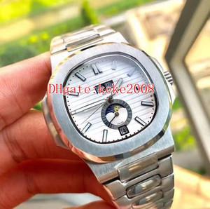 5 Цвета Отличное качество U1 Хорошие наручные часы 5726 / 1a 40,5 мм Классическая нержавеющая сталь Механические прозрачные автоматические мужские часы часов