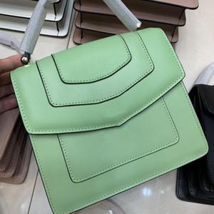 2020 Été Nouveau Style Femme Sac sac à main Sac à main sur l'épaule Cuir Cuir Cuir Big Casual Designer Femme Bolsas 66996 20 * 13 * 5cm