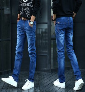 The Blue Boys Jeans Cultivate One'S Morality Feet Pants Pedicure Stretch Teenagers