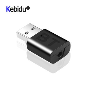 USB Adapter Wireless Bluetooth A2DP 3.5mm Universal USB Handsfree Home Car Kit AUX Audio Stereo Music Receiver For Android IOS