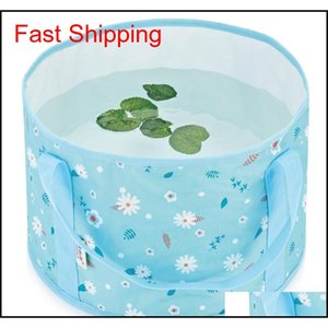 Foldable Basin Travel Camping Washbasin Foot Bath Sink Washing Basket Spa Foot Bath Bucket Travel Camping Washbas qylSNq yh_pack
