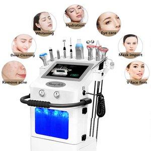 10 in 1 HydraFacials Schönheitsmaschine Microdermabrasion Hautpflege Gesichtsbehandlung Aqua Peel Sauerstoff Schönheit der Schönheitsmaschine