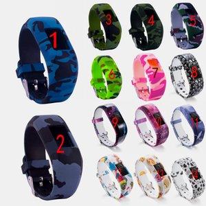 다채로운 손목 밴드 실리콘 없음 버클 시계 밴드 스트랩 시계 밴드 스포츠 교체 Garmin Vivofit JR / Vivofit JR2 / Vivofit 3