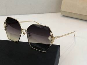 2253 Sunglasses For Women Round Frame Elegant Special Design Inlaid Colorful Frame Popular Sunglasses Top Quality Come With Case