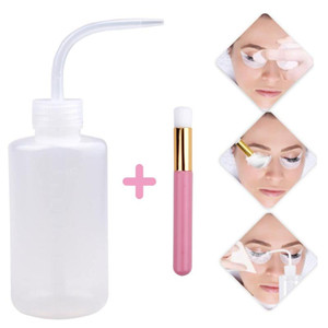 Eyelash Cleaning Brush Eyebrow Nose Applicator Brushes Eyelash Extension Cleaning Washing Bottle Skin Care Remover Makeup Tools