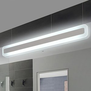 Modern bathroom lighoilet front mirror lights bathroom lamp acrylic mirror light Bedroom wall lamp 0.4m-1.2m 8W-24W AC85-265V