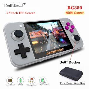 TSINGO 3.5 inch IPS Screen RG350 Retro Game Console HDMI 20+ Emulators Linux System 32GB 64GB 10000+ Games RG 350 Game Player