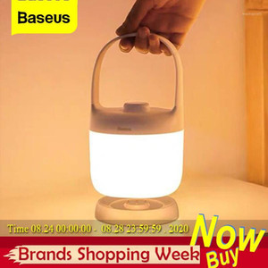 Baseus Handle Touch Swivel Stepless Dimmable Night Light Portable Table Lamp Reading Lamp 3000-5000K Rechargeable USB LED Light1
