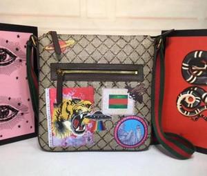 Homens Crossbody Bag Men Tote Boston Totes Totes Snake Tiger Mans Ombro Messenger Bag Backpack Mini Bagagem Lifestyle Boston Tote 523599
