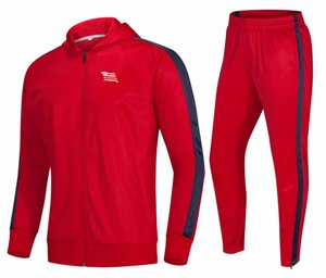 20 21 KS Cracovia Kids Football Tracksuit Men Training Sets Customize Team Logo Adult Warm Jacket Pants