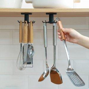 Nicht perforierter Wandhaken, freie Rotation, Zubehör, Mini und leichte PP, Küchenwerkzeuge