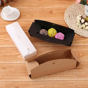 10 pcs Kraft Gift Boxes handmade paper candy   chocolate packing box Blank storage DIY wedding cake boxes fast sent