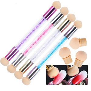 Ombre Nail Brush Set Gradient Sponges Nail Art Brushes Pen Acrylic Gel Glitter Powder Picking Dotting Tools Manicure #945-1