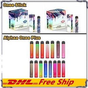 Kangvape Onee Stick 일회용 vape 펜 장치와 1100mah1100mah 1800 1900 2200 퍼프 배터리 6.2ml 카트리지 포드 강력한 일회용 vape 키트 v