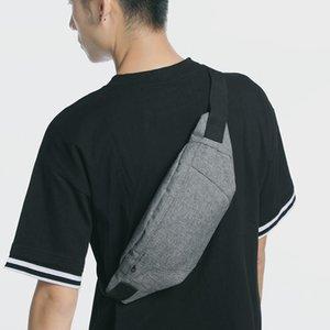 Fashion Chest Girl New Leisure Sports Running Single Men's Small Trendy Phone Waist Bags Shoulder Bag Bag Mobile Messenger Bags Fjbtr