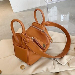 Luxury Handbag Women Bags Design 2020 Solid Color Pillow Design Shoulder Bags Vintage Soft Hand Purse Women Crossbody Bag