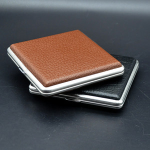 Luxurious Metal Frosted Cigarette Case Shell Casing Storage Box High Quality Exclusive Design Portable Decorate Hot Cake