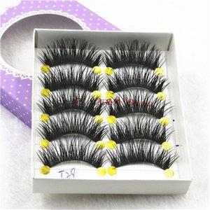 5 Pairs Eyelash Natural Long 1 Box Fake 4*1.3cm False Full Band Eyelashes