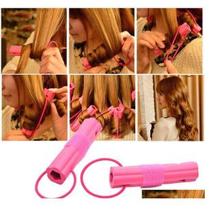 New Fashion 6pcs Magic Foam Sponge Hair Curler Diy Wavy Hair Travel Home Use Soft Hair Curler Rolle sqcHzw bdehair