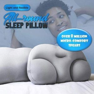 All-round Sleep Pillow Cloud Pillow Neck Support Butterfly Shaped Ergonomic Foam Soft Orthopedic Neck