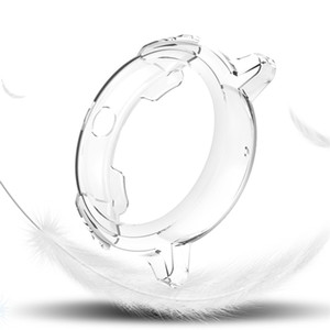 Mira los casos para TIC Watch E Smart Relojes Cubierta Tic Watche TPU Case Cash Clating Shell Protector Smart Watch Accesorios