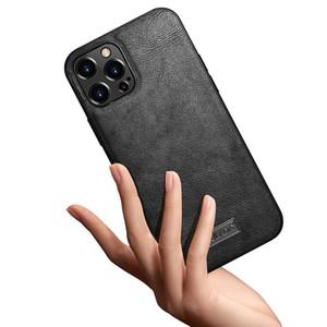 Für Apple 12 Mobiltelefongehäuse Hautschutz ultradünne Weichschale Geeignet für Apple 12Promax Ledertasche Handyfälle