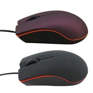 200 pcs dhl mini com fio 3d óptico usb gaming mouse rato para computador laptop jogo mouse com caixa de varejo