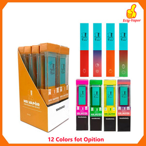 MR VAPOR Disposable Device MR Vapor Vape Pen Pods Starter 280mAh Battery 1.3ml Cartridges e cigarette Vs Puff Bar Plus XTRA Flow puff bars