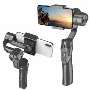 3-осевая портативная портативная стабилизатор Gimbal Mobile Phone PTZ Camera Anti-Shake Gyroscope видеокамера электронный смартфон стабилизатор