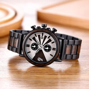 Shifenmei Mens Quartz Watch Sports Fashion Army New Wood Strap Male Watches Husband's Gifts erkek kol saati