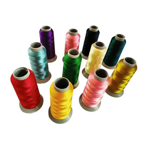 Nähende Stickmaschine 1400 Farbstickerei Faden Tendence Da Finestra Bettwäsche Tücher Schal Strickfäden für Hemden Röcke usw