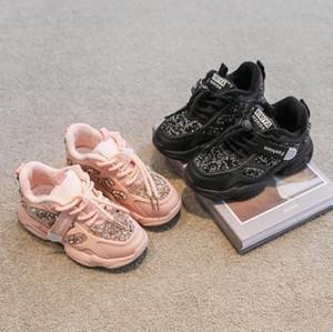 Crianças sapatos casuais crianças sapatos esporte sapatos meninos rebanho sneakers meninas moda inverno espesso pelúcia franja quente franja