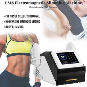 DERNIÈRE EMSLIM HI-EMT MACHINE EMS Stimulation de muscle électromagnétique Stimulation de la graisse BORDE DE BRILLAGE DE FACE DE SHES HIEMT EMS Sculptant Equipement de beauté