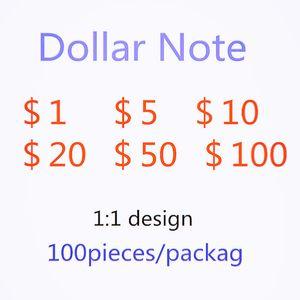 Фабрика прямых продаж моделирования долларовых счетов Поддельные счета вечеринки игры Tokens игрушки UPS быстрая доставка 753