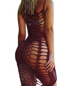 Chemisier Bikini Halter Top Open Openwork Hand Crochet Knit Femme Sun Protection Vêtements Huit Couleurs Sexy Set