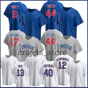 Javier 9 Baez Baseball Jersey Anthony 44 Rizzo Ryne 23 Sandberg Yu 11 Darvish Kyle 12 Schwarber Willson 40 Contreas David 13 Bote 8 Dawson
