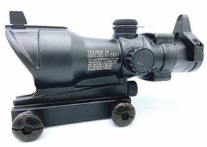 Tactical Trijicon ACOG Style 1x32 Rosso / Green Dot Rifle Scope