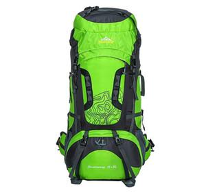 80L Large Outdoor Backpack Waterproof Unisex Nylon Travel Bags Camping Hiking Climbing Backpacks Waterproof Rucksack Sport bag