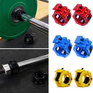 1 Pair 50mm Dumbbell Barbell Clamp Lock Man Weightlifting Barbell Buckle Bodybuilding Exercise Fitness Gym Equipment Accessories1