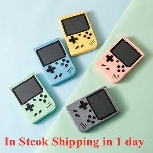 Console Macaron Portable Rétro Console Console Portable Joueur de jeu 3,0 pouces TFT Color Color 800/500/400 en 1 Console de jeux de poche