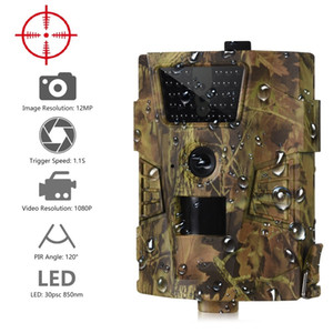 Suntekcam HT-001B Trail Camera 12MP 1080P 30pcs Infrared LEDs 850nm Hunting Camera IP54 Waterproof 120 Degree Angle Wild Camera Q1201