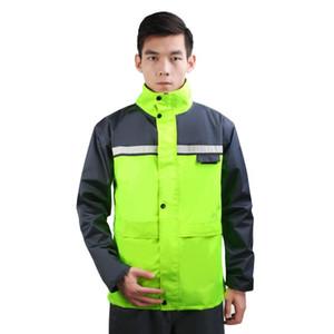 Otoño adulto capa de lluvia motocicleta lluvia impermeable para mujer chaqueta con capucha chubasqueros impermeables muyer impermeable 50yy