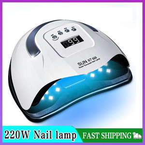 SUN X7 Max 220W Nail Lamp Upgrade 57LED UV Lamp Phototherapy Quick Dry Nail Gel Dryer Professional Manicure