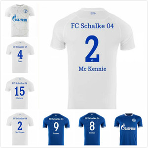 20 21 Schalke Soccer Trackys Kutucu Serdar 2020 2021 FC Schalke 04 Harit Raman Футбольная футболка Ozan Harit Jersey