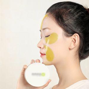 EUA em estoque 30pairs 60 pcs máscara olho hydroge shoy manchas colágeno sob pad de olhos reduz o enrugamento escuro círculo pele cuidado pele