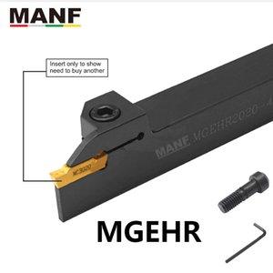 Attrezzo di tornitura Manf 10mm 12mm MGEHR1010 CUT OFF Grooving Toweholder Macchina tornio Lathe LOOL per mgmn150 / 200 inserti