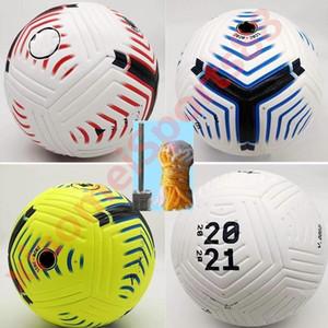 Größe Club Liga 2020 2021 5 Bälle Fußball-Ball hochwertige schönes Spiel Liga premer 20 21 Fußball-Bälle (Schiff der Kugeln ohne Luft)